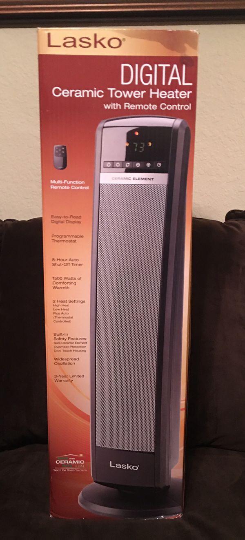 Lasko® Digital Ceramic Tower Heater for Sale in Gainesville, FL - OfferUp