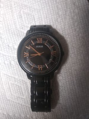 Guess Watch Black Amd Gold For Sale In Guadalupe Az Offerup