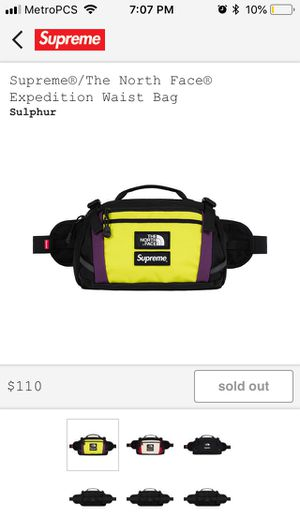 Supreme North Face Fanny Pack for Sale in Adelphi, MD