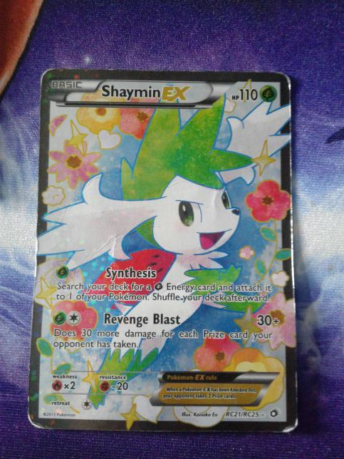 Shaymin Ex Pokemon Card Collection For Sale In Palos Hills Il Offerup