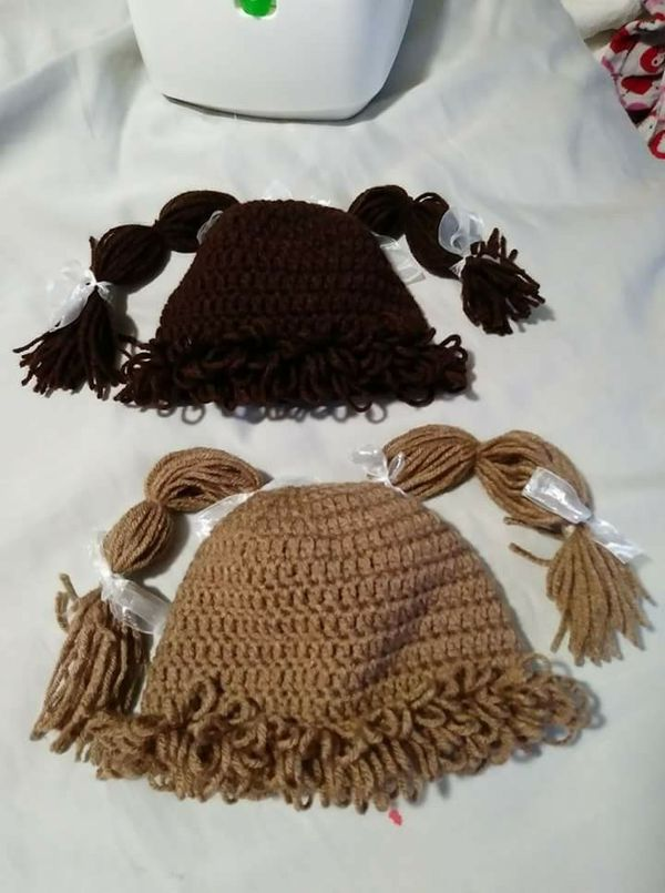 Crochet Cabbage Patch Hats Baby Kids In Southgate Mi Offerup