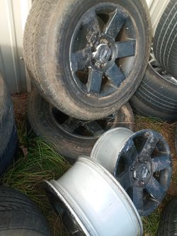 Tires and Wheels 18,rines Y Llantas 18 Thumbnail