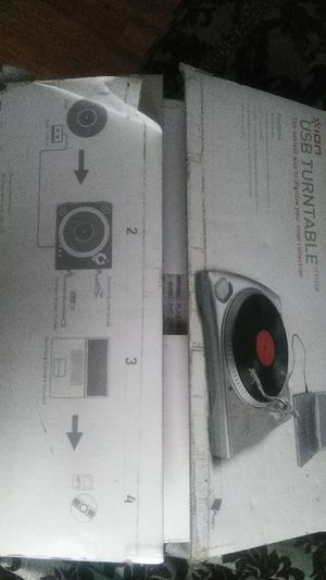 Usb turntable for Sale in Tampa, FL