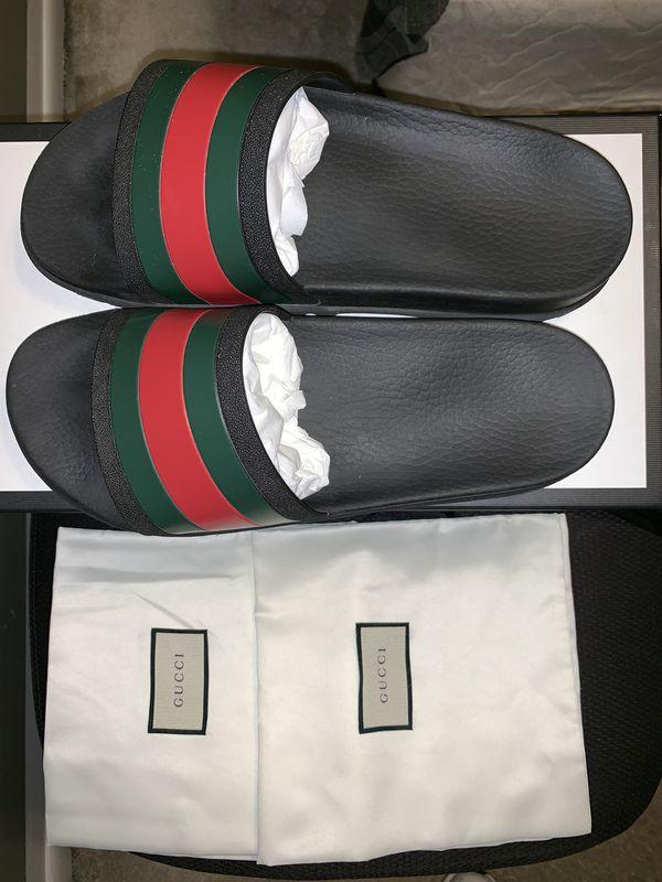 c8da9c6b529 Gucci Web Slide Sandal (black) for Sale in Aurora