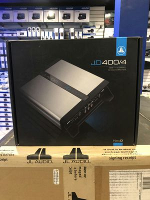 Photo Jl audio jd400/4 on sale today! Get the best prices in la today! Our deals can't be matched