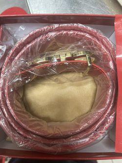 Ferragamo Dubble Red Belt Size 30 Thumbnail