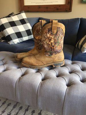 Photo Steel toe Irish Setter (Red Wing Shoe) waterproof work boots