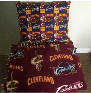 Cleveland Cavaliers Fleece Throw Set for Sale in Cleveland, OH
