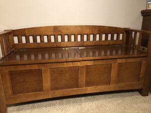 Photo World Market authentic wooden storage bench $75