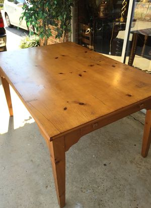 Pine farm table for Sale in Chapel Hill, NC