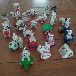 Vintage Dog 101 Dalmatians. Toy cake toppers figures for Sale in Phoenix, AZ