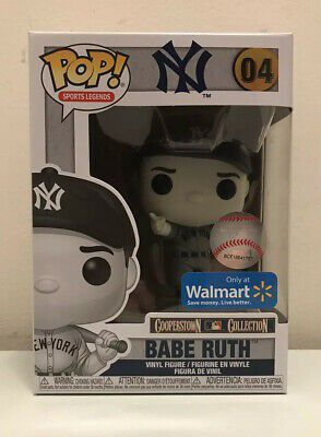 Photo Funko Pop Babe Ruth Walmart Exclusive