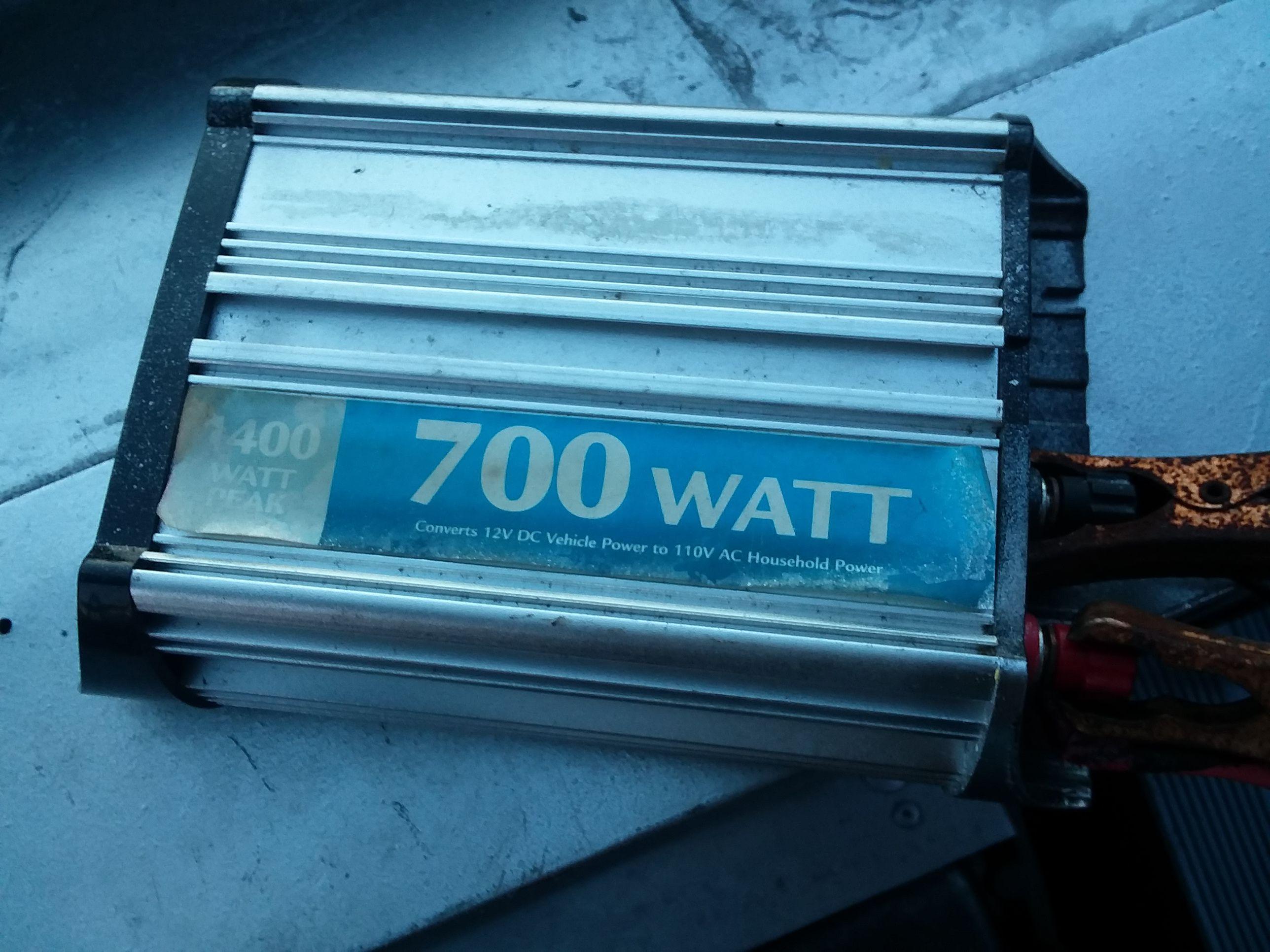Invertedor battery