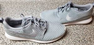 1cd31a001 Nike Roshe One NM Flyknit Running Wolf Grey Shoes Sneakers Size 12 for Sale  in Queens