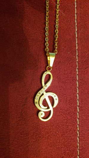Beautiful musical note Necklace for Sale in Tavares, FL