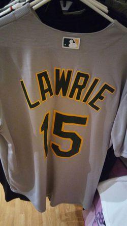 Oakland Athletics Majestic Lawrie Away Jersey Thumbnail