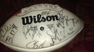 Ex Seahawk Chris Warrens ball for Sale in Seattle, WA
