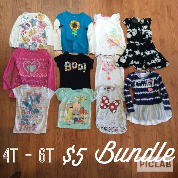 930daa321 Girls clothes $5 bundle. Sizes 4t - 6t for Sale in Ontario, CA - OfferUp