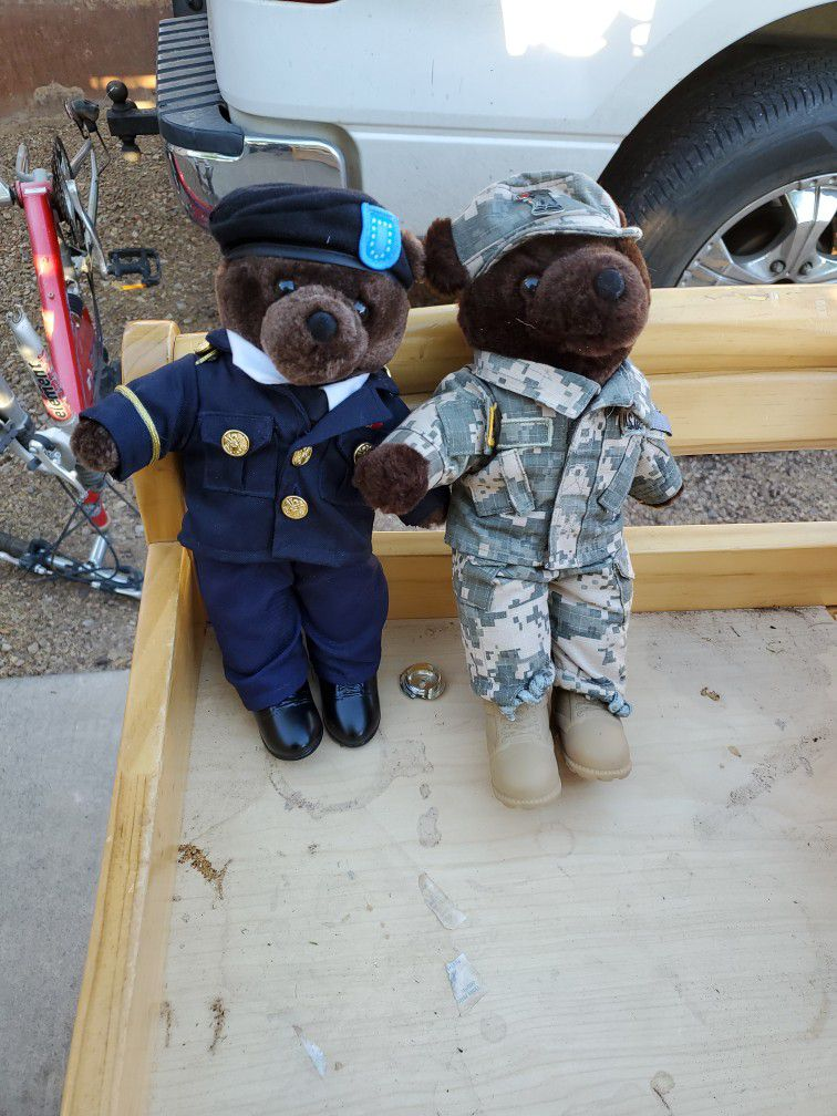Army Soilder Teddy Bears