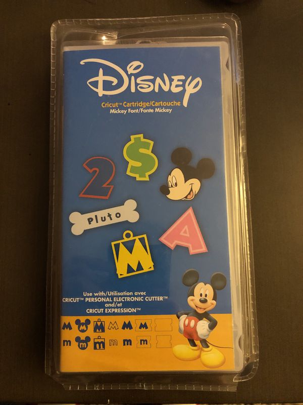 Cricut Cartridge- Disney • Mickey Font for Sale in Hillsboro, OR - OfferUp