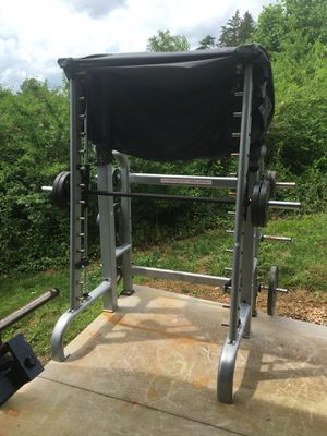 In Flight nice commercial smith press multi use free weight machine for Sale in Appomattox, VA