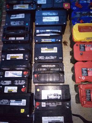 Baterías de todo tipo AGM Deep Cycle Prius Miata Optima, etc. for Sale in Cary, NC
