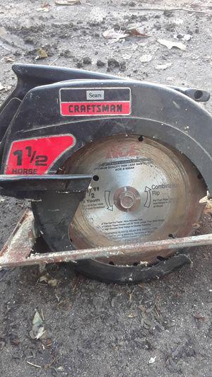 Craftsmen 1 1/2 go circular saw for Sale in Glen Burnie, MD