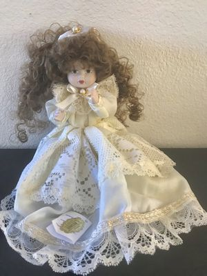 Porcelain hand painted doll from Italy for Sale in West Los Angeles, CA