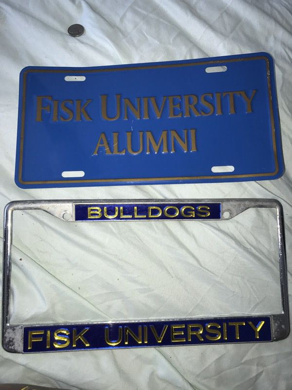 Fisk University license plate tags for Sale in Nashville, TN - OfferUp