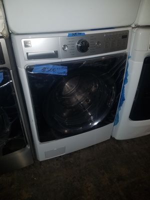 Brand new Kenmore front load washer excellent condition for Sale in Baltimore, MD