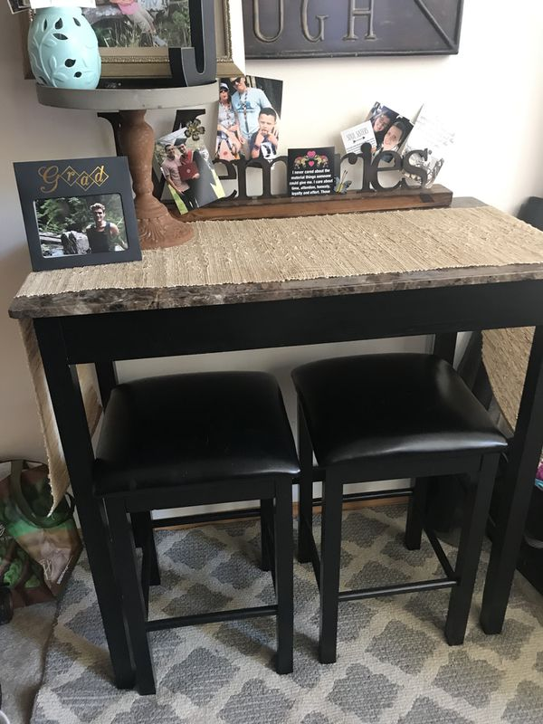 Bar Height Table W Two Stools For Sale In Arlington Wa
