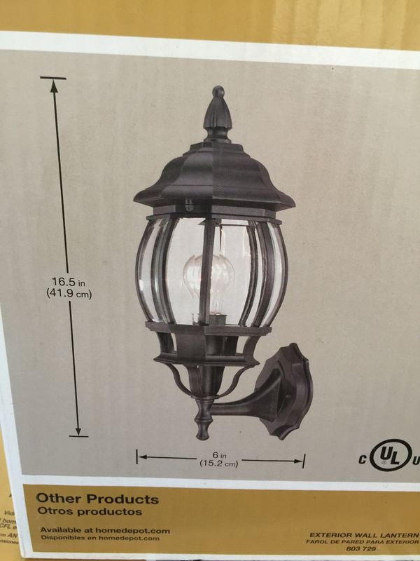 5 exterior wall lights brand new in box for sale in fort worth tx