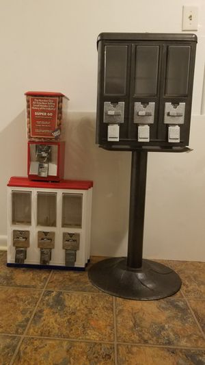 3 Gumball Vending Machines for Sale in Silver Spring, MD