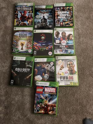 10 Xbox 360 games for Sale in Phoenix, AZ