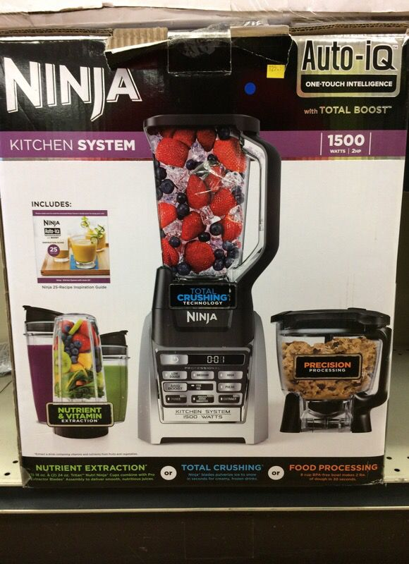 New Ninja Kitchen System auto IQ 1500 watts - 622356542449 for Sale in Los  Alamitos, CA - OfferUp