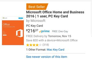 Microsoft office software NIB for Sale in Bellflower, CA