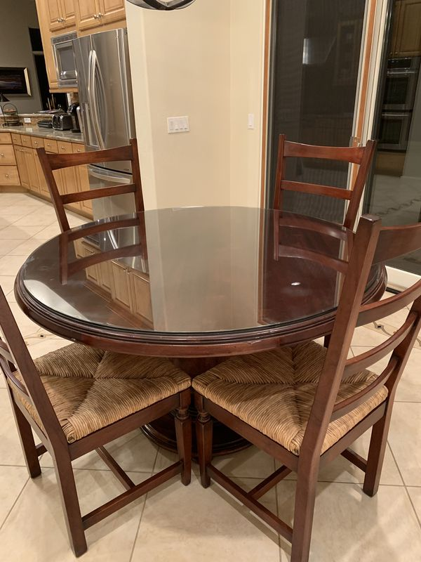 52 Round Table.52 Round Dining Table 6 Dining Chairs For Sale In Scottsdale Az Offerup