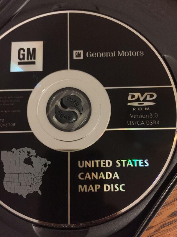 2003-2006 Cadillac Escalade navigation map disc for Sale in Delano ...