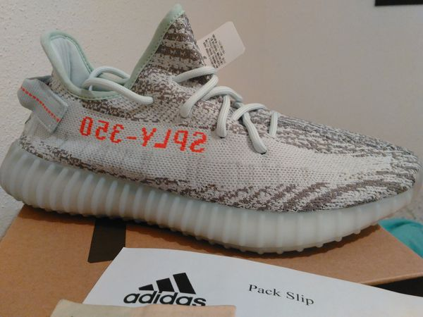 49d525948d635 Yeezy boost 350 v2 Blue Tint Sz 9.5 (Clothing   Shoes) in Houston ...