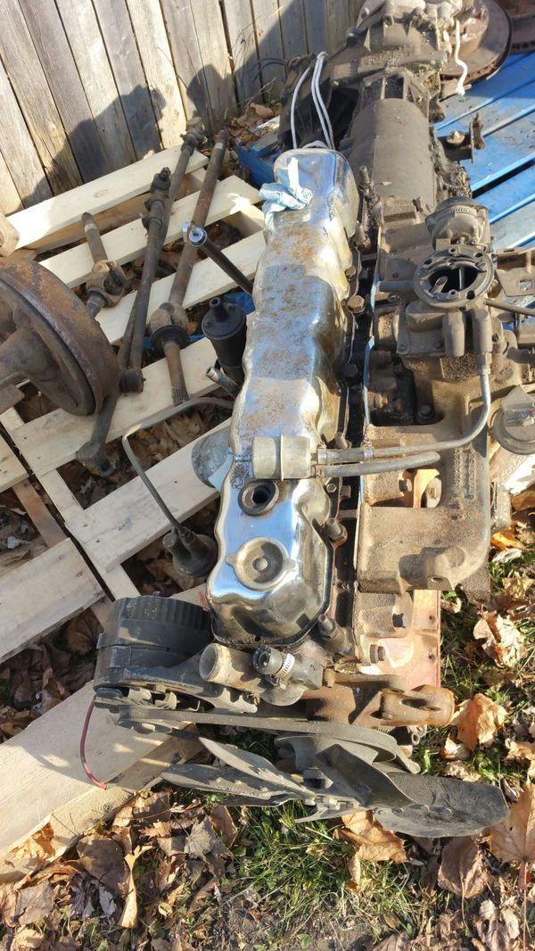Jeep Cj 258 ci engine Turbo 400 Trans transfer case for Sale in Wadsworth,  IL - OfferUp