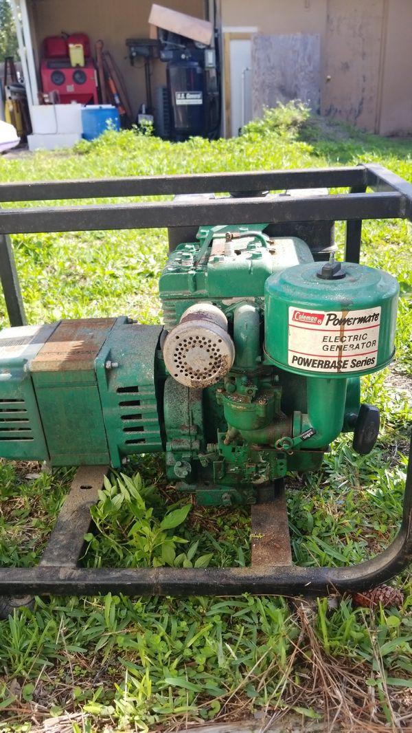 Coleman generator 4000 Wat for Sale in Fort Pierce, FL - OfferUp