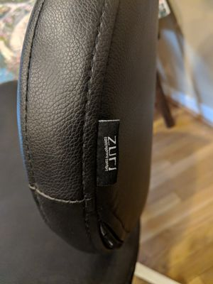 Zuri Pebble Contemporary Luxury Leather Chair for Sale in Fairfax, VA