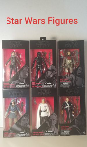 Star Wars The Black Series Action Figure for Sale in Fontana, CA