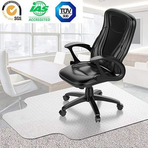 Desk Chair Mat for Carpet(Transparent), Vinyl Floor Protector for Low-Pile Carpets,Non-Slip Bottom, Heavy-Duty | Home, Office, Computer for Sale in Hacienda Heights, CA