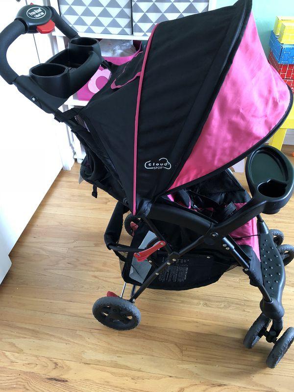 Kolcraft Cloud Sport Lightweight Stroller Fuchsia Pink For Sale In Fremont Ca Offerup