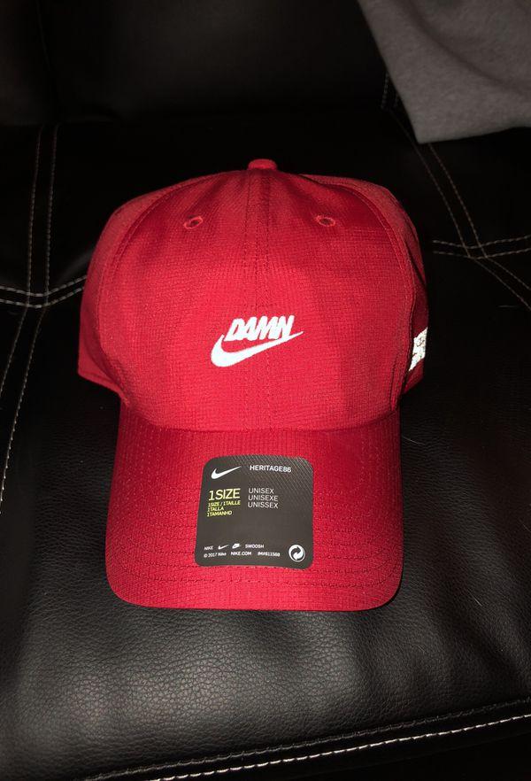 7b81012c61384 Nike x TDE Kendrick Lamar Pop Up Damn Hat (Red) for Sale in Los ...
