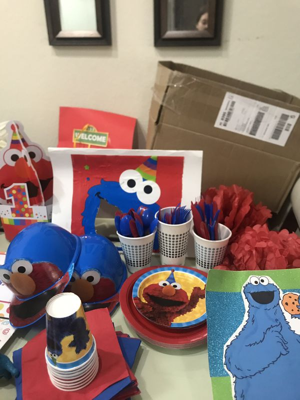 ELMO Sesame Street Birthday First Everything You Need Orlando