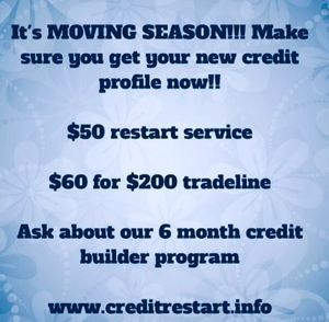 Credit Restart Profile for Sale in Cleveland, OH