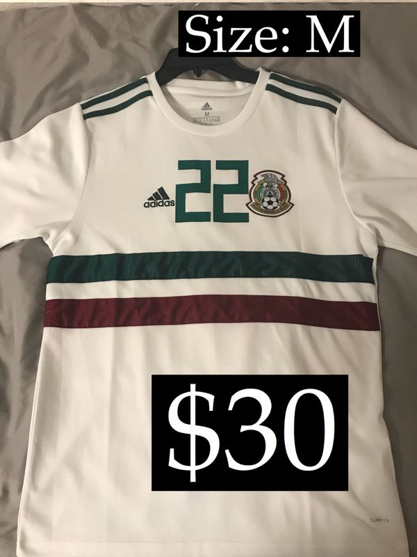 cec75d3366e Away Adidas World Cup Mexico Jersey  22 Hirving Lozano for Sale in ...