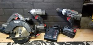18v Porter Cable .Drill and impact and circular saw. for Sale in DeBary, FL